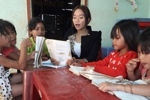 'Bông hoa khuyết của núi' trong lớp học nghèo miền cao nguyên