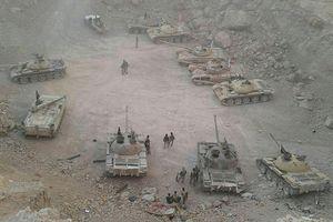 Quân đội Syria chiếm 50 xe tăng phiến quân tại Qalamoun
