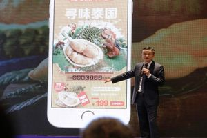 Bán hàng kiểu Jack Ma: 'Hết veo' 80.000 quả sầu riêng chỉ trong... 1 phút