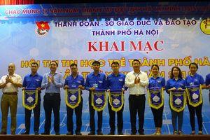 Gần 500 thí sinh tham gia Hội thi Tin học trẻ thành phố Hà Nội lần thứ 23