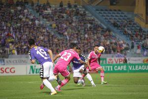 Hà Nội FC ngậm ngùi chia điểm trước Sài Gòn ngay trên sân nhà