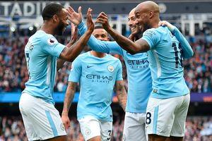 Man City 5-0 Swansea: Tân vương thị uy sức mạnh