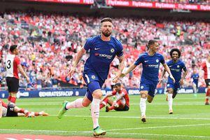 Giroud lập siêu phẩm, Chelsea chiến MU ở chung kết FA Cup