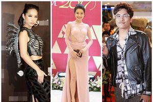 Kiều Minh Tuấn ăn mặc xuề xòa - Nhã Phương diện đầm hồng quê kiểng lọt top sao xấu tuần qua