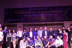 17 tài năng tỏa sáng trong đêm chung kết V-K Music Festival 2018