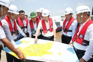 Đang quyết toán, bồi thường khẩn cấp cho người dân Dự án luồng sông Hậu