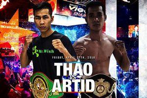 Võ sĩ Trần Văn Thảo sắp thượng đài với nhà vô địch Thái Lan