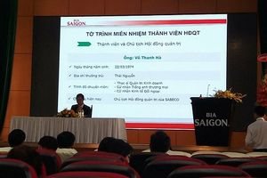 Đại hội bất thường Sabeco: Miễn nhiệm Chủ tịch Võ Thanh Hà, 3 đại diện của ThaiBev vào Hội đồng quản trị