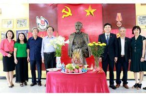Hành trình về nguồn, nơi ra đời Hội Nhà báo Việt Nam