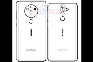 Nokia 8 Pro với Snapdragon 845 và camera 5 ống kính lộ thiết kế