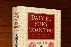 'Đại Việt sử ký toàn thư' bán chạy nhất Hội sách 2018