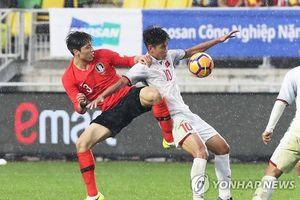 U19 Việt Nam xuất sắc cầm hòa U19 Hàn Quốc