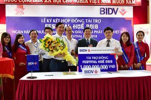BIDV tài trợ 'Đồng' cho Festival Huế 2018