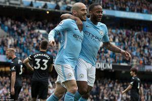 Đại thắng 5 sao trước Swansea, Man City thị uy sức mạnh nhà vô địch