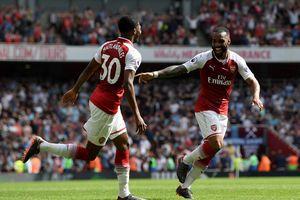 Lacazette lập cú đúp, Arsenal hủy diệt West Ham