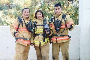 'Bông hồng thép' của Cảnh sát Phòng cháy chữa cháy Thủ đô