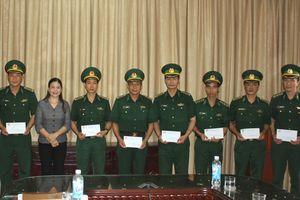 Trao tiền hỗ trợ các quân nhân BĐBP Thái Bình có hoàn cảnh khó khăn