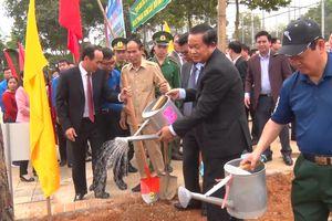 Các đơn vị BĐBP tích cực hưởng ứng Tết trồng cây năm 2018