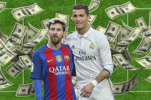 Kiếm 25.000 euro mỗi phút trên sân, Messi đánh bại Cristiano Ronaldo ở thu nhập
