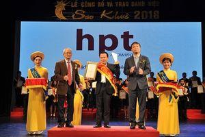 HPT được trao danh hiệu Sao Khuê 2018