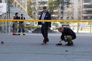 Xe tải lao lên lề, 9 người chết, hàng chục người bị thương