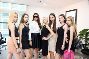 Dàn người mẫu đình đám nô nức tham dự casting show diễn 'Girl Boss' của Phạm Hương