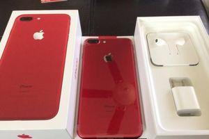 iPhone 8 Plus đỏ chính hãng đã lên kệ tại Việt Nam