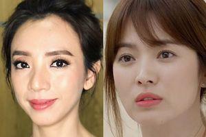 Tin sao Việt: 'Hoa hậu hài' Thu Trang thích thú khoe hình ảnh giống Song Hye Kyo sau khi qua Hàn Quốc