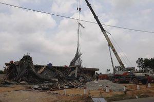 Vụ sập giàn giáo xây dựng cây xăng: Thêm 4 người bị thương