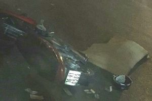Người đàn ông tử vong thương tâm dưới bánh xe container