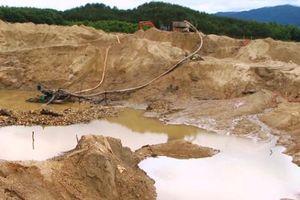 Quảng Nam: Tăng cường công tác quản lý hoạt động khoáng sản trên địa bàn tỉnh