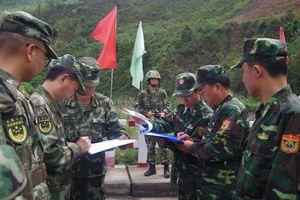 BĐBP Lai Châu và Chi đội Công an Biên phòng Châu Hồng Hà tuần tra liên hợp