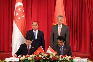Tuyên bố chung Việt Nam-Singapore