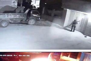 Thanh Hóa: Nửa đêm kẻ xấu dùng súng bắn và đốt xe tải nhà dân