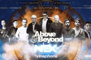 Nhóm nhạc huyền thoại Above & Beyond đến Hà Nội
