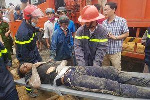 Huế: Sập giàn giáo công trình cây xăng, hơn 10 người nhập viện