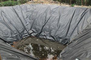 Urenco 7 làm bể phốt lộ thiên ngay sát khu dân cư