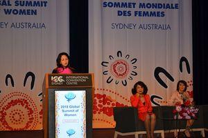 Phó Chủ tịch nước Đặng Thị Ngọc Thịnh dự Hội nghị Thượng đỉnh Phụ nữ toàn cầu