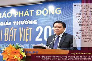 VNPT tài trợ 1,1 tỷ đồng cho giải thưởng CNTT của Nhân tài Đất Việt 2018
