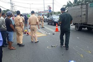 Nữ sinh sắp ra trường bị xe tải cán tử vong trên quốc lộ 1K