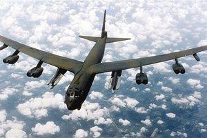2 máy bay ném bom B-52 áp sát bờ biển Trung Quốc