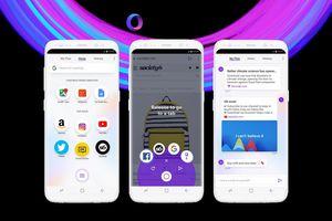 Opera Touch ra mắt: trình duyệt di động tối ưu cho thao tác sử dụng một tay