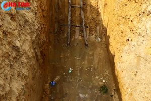 Giếng nhiễm dầu ở Hương Khê do rò rỉ từ tẹc dầu của Công ty Việt - Lào