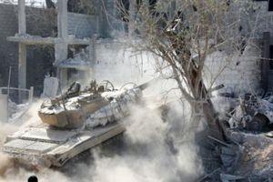 Quân đội Syria giáng cú đấm chí mạng vào IS ở Nam Damascus
