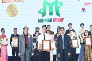 Mai Hân Group: Tự hào vinh danh 'Thương hiệu xuất sắc - Excellent Brand' lần thứ 4