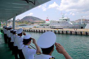 Tàu 561 Hải quân Việt Nam đi diễn tập KOMODO 2018