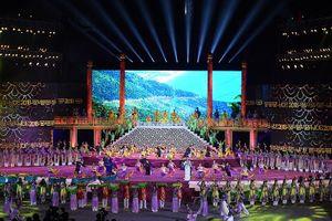 Khai mạc festival Huế 2018: 'Huế - tỏa sáng miền di sản'