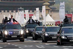 Đoàn xe Tổng thống Hàn Quốc gây chú ý vì toàn 'xế' nhập