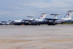 A-50U 'tàng hình' khi đến Syria
