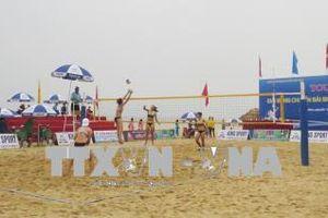 Bế mạc, trao giải Tour 1 Giải Bóng chuyền bãi biển toàn quốc năm 2018
